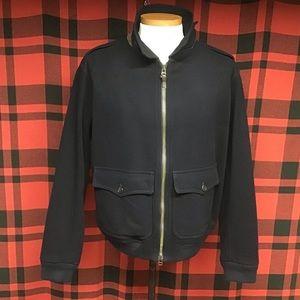 EUC POLO A-2 wool bomber jacket sz XL